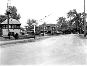 Chatham railroad Crossing 1947