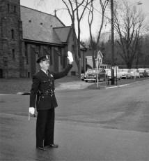 Policeman Arlington Race Chatham 1956