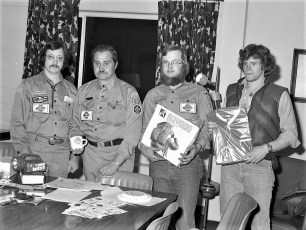 Boy Scout Troop 131 Claverack 1978