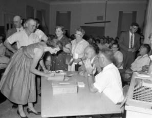 Claverack School Budget Vote 1957