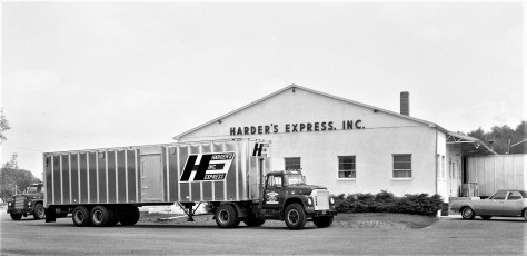 Harder's Express Route 9H Claverack 1968