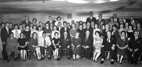 Harder's Express Xmas Party 1963