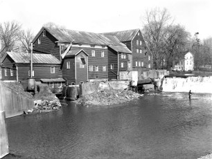 Red Mill built 1767 Miller Bros. for horse shoeing Claverack 1959