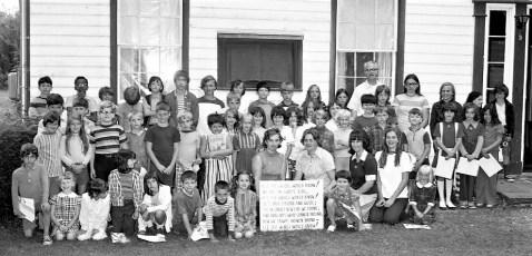 Clermont Bible School 1974 (2)