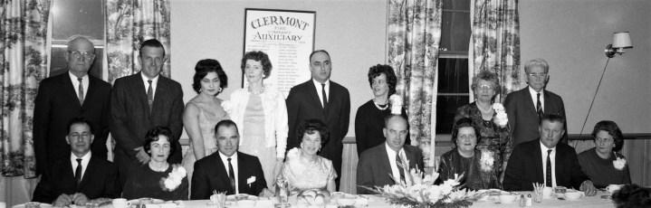 Clermont Fire Aux. Installation Banquet 1964 (1)