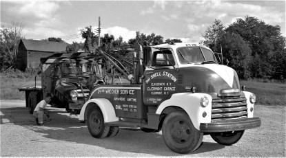 Clermont Garage Wreaker J. Vucich Clermont 1956