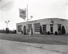 Baxter Service Station 1947