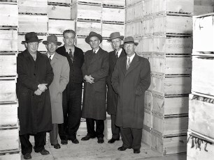 G'town Cold Storage Coop Directors 1947 Wes Rider, Manager
