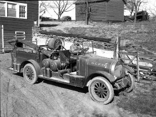 G'town Fire Truck 1940s