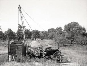 McLean Well Drillers Tivoli Water Works 1949