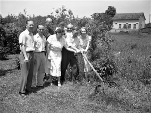 Blossom Trail Inn group picture 1950