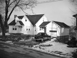 Claude Hover house Maple Ave G'town 1950