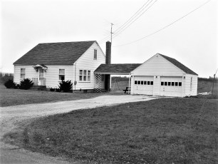 Lew & Ruth Lasher house Maple Ave G'town 1954