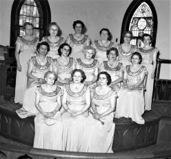 Rebecca Society G'town 1954