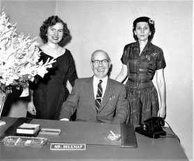 The First National Bank opening G'town Mar. 1955 (4)