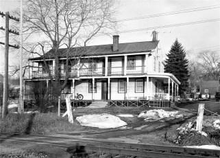 DeWitt House earlier East Camp RR Station Cheviot 1957