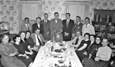 Rod & Bow Club Venison Dinner at Central House G'town 1956