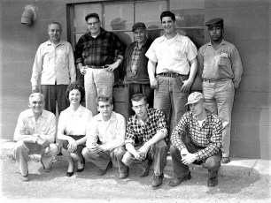 Bohnsack Equipment Company Staff 1960