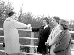 Dales Bridge Opening Joint Town Christening 1964