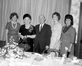 Helen Maske Farewell Party State Bank of Albany G'town 1965 (2)