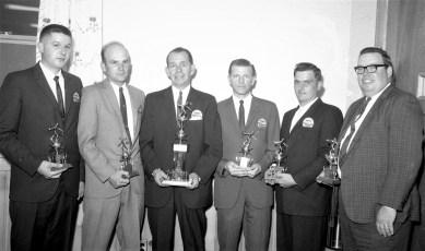 Hugh McLean & Son's Bowling Team 1966