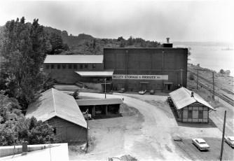 Lower Main St. G'town Valley Storage & Train Station 1960