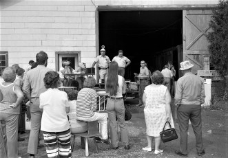 Auction at Jay Moore's for So. Col. Ambulance Sq. G'town 1976 (2)