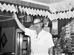 Blossom Trail Gene Whitehurst Bucks for Cancer G'town 1978