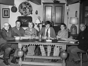 G'town Bi-Centennial Comm. W.Miller, R.Crawford, E.Liepshutz, C.Ramsey, H.Henderson, E.Ekert 1975