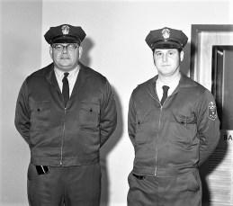 G'town Policemen Jim Bell & Ron Banks 1972