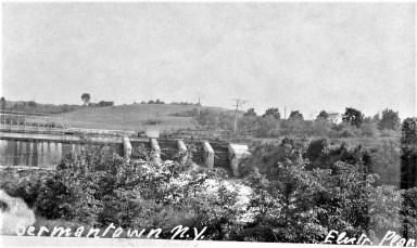 Bingham Mills Power Dam (Post Card)