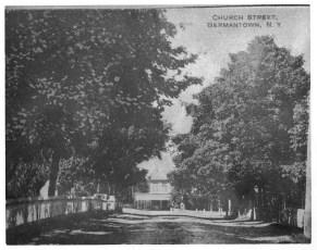Church Ave G'town Post Card