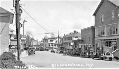 Main St. G'town (Post Card)