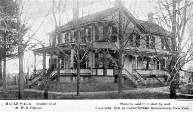 Maple Villa G'town (Post Card)