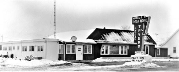 Kozel's Post Road Tavern 1965 (1)