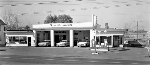 Baumann's Tydol Station Rt. 66 Greenport 1957