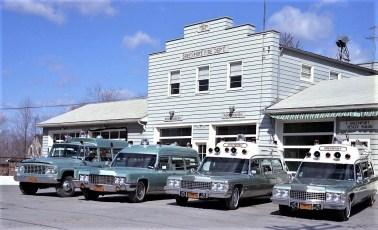 Greenport Rescue Squad Ambulances 1974 (1)