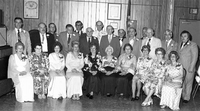 Loyal Order of Moose Annual Banquet Hudson 1978