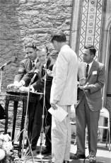 Olana Preservation Bill Signing Gov. Rockefeller, Ass. Larry Lane, Sen. Lloyd Newcombe 1966 (2)