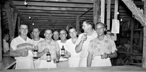 Polish Sportsman's Club Clambake for Members Greenport Sept. 1956 (6)