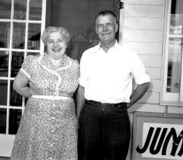 Betty's Diner Betty Livingston 1958