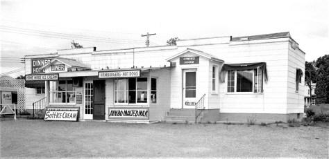 Betty's Diner Livingston 1958