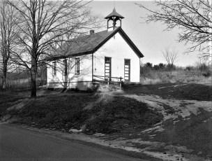 Elizaville School House near the Firehouse 1958