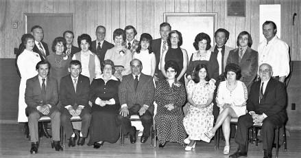 Livingston Fire Co. Annual Banquet 1974