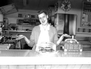 Sunset Drive In Rt. 82 Doris Rockefeller Livingston 1955