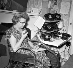 American Legion donates for new Police radio Red Hook 1956 (3)