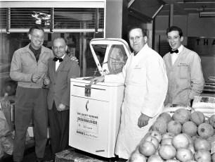 Empire Market dishwasher winner Red Hook 1951