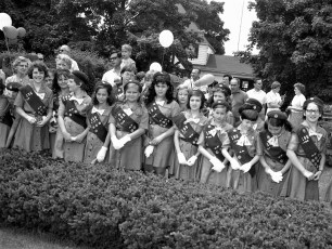 Girl Scout Troup 196 Red Hook 1968