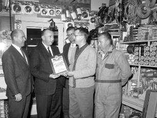 Red Hook Coop Award Presentation 1963