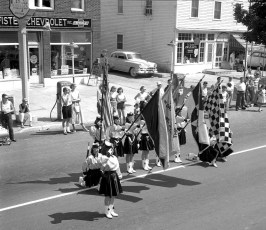 Red Hook Fireman's Parade 1957 (1)